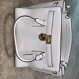 White Michael Kors satchel